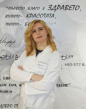 Доцент Доктор Ивелина Йорданова