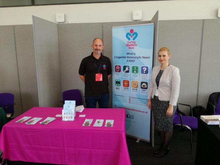 Доц. Йорданова с Основателя на благотворителната организация Caring Materrs now - Обединено-Кралство
