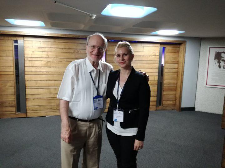 Доц. Йорданова с Проф. Rudolf Happle от Фрайбург, Западна Германия
