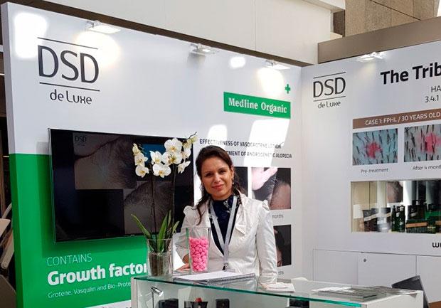 DSD de Luxe медицинска трихологична козметика беше представена на 16-ти Световен конгрес по естетична и антиейдж медицина в Монако 2018 г.
